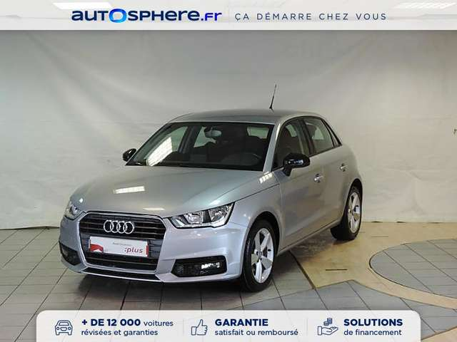 audi a1 sportback-1-6-tdi-116ch-ambiente-s-tronic-7 argent