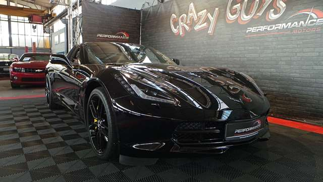 corvette c7 targa-6-2-v8-stingray schwarz