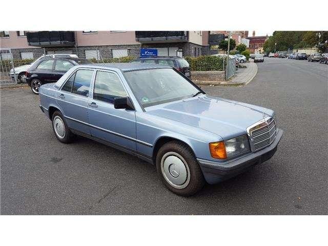 daimler other 190-e-automatik blau