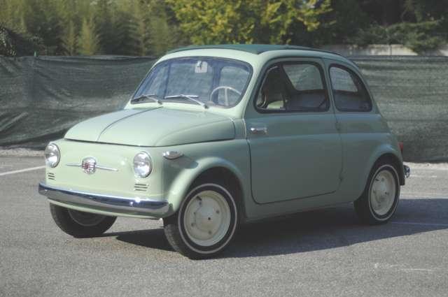 fiat 500 nuova-500n-prima-immatricolata-italia-con-doc zielony