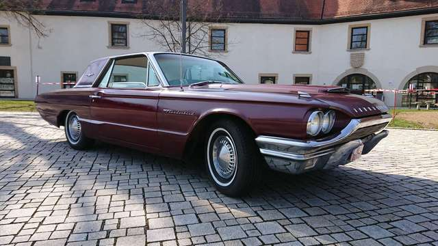 ford thunderbird 2-door-coupe rot