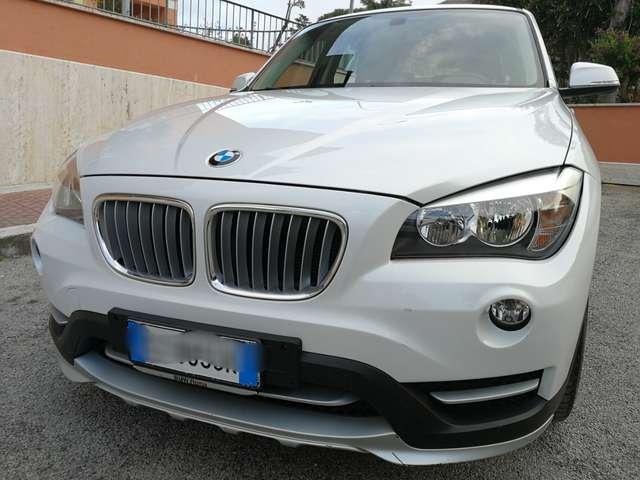 bmw x1 xdrive18d-sport-line-km-certificati bianco