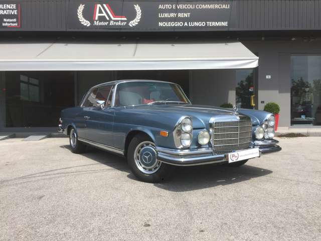 mercedes-benz 280 se-coupe-3-5-v8-one-owner-since-1976 bleu