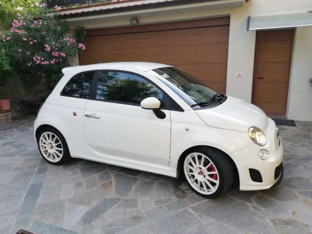 abarth 500 esseesse blanco