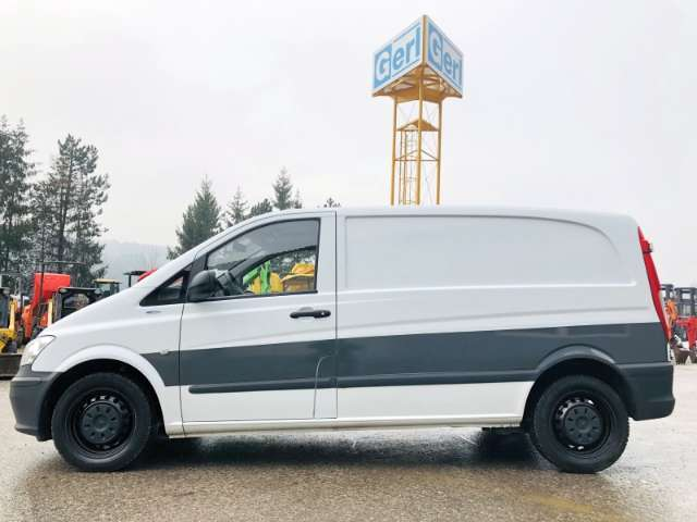 mercedes-benz vito 113-cdi-blueefficiency-kompakt weiss