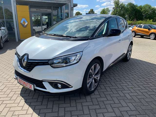renault scenic intens-tce-140-gpf-edc-parkassistent bianco