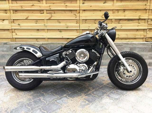 yamaha xvs-1100 classic-br-roadkill-custom-umbau-top-zustand negro