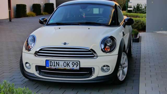 mini cooper-coupe coupe-1-6 weiss