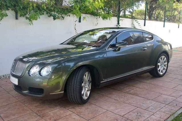 bentley continental gt-aut gruen