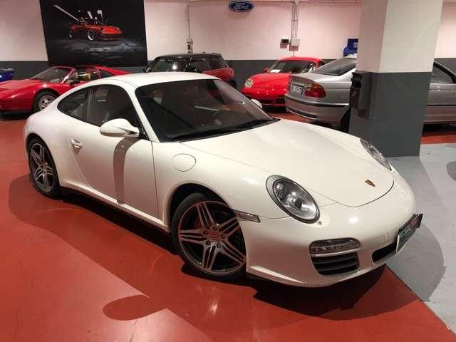 porsche 997 911-carrera-4s-coupe-km-27-000-uff-porsche bianco