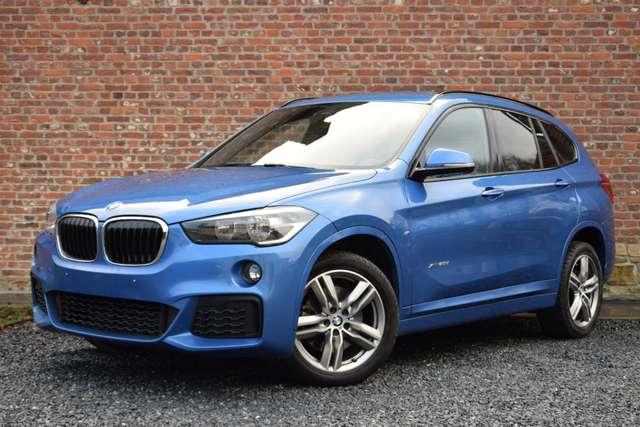 bmw x1 2-0da-xdrive-pack-m-sport-full blauw