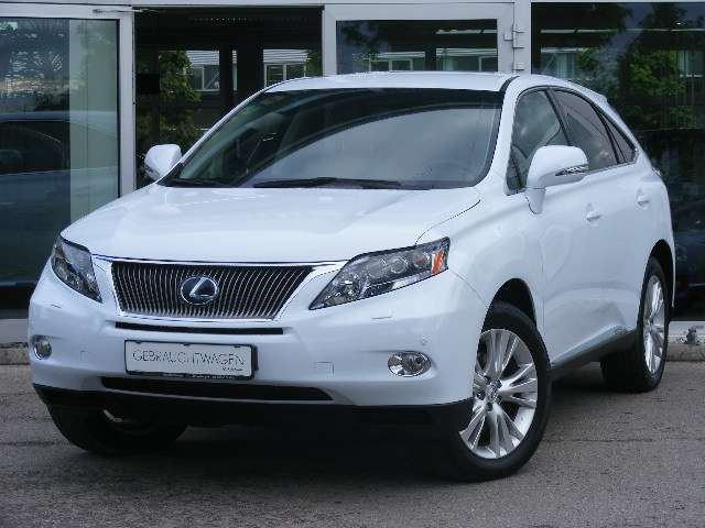 lexus rx-450h hybrid-executive-line weiss