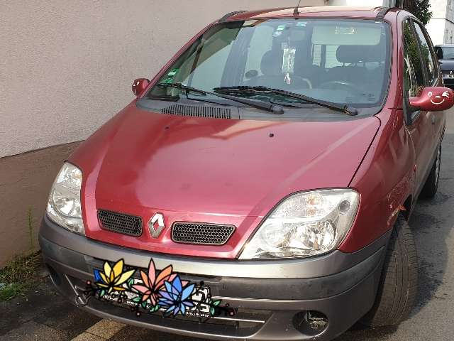 renault scenic red