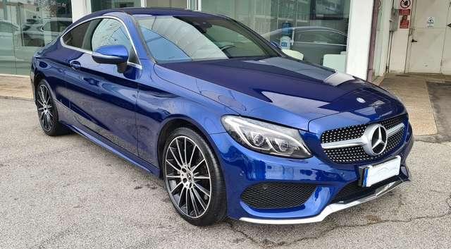 mercedes-benz c-250 d-4matic-auto-coupe-premium-plus-amg-full-opt blu-azzurro