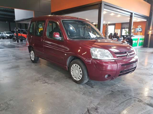 citroen berlingo 1-4i-x-en-excellent-etat rouge