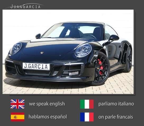 porsche 911 carrera-gts-pdk-aus-1-hand-nur-9-300-km schwarz