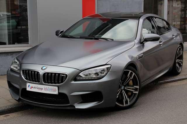 bmw m6 4-4-v8-dkg-individual-vendu-full-hud-toit-carbon argent