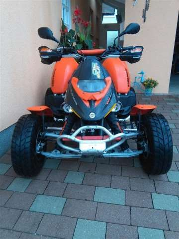 can-am ds orange