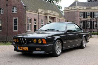 BMW M6 1986 diamantschwarz black leather 133000 km airco