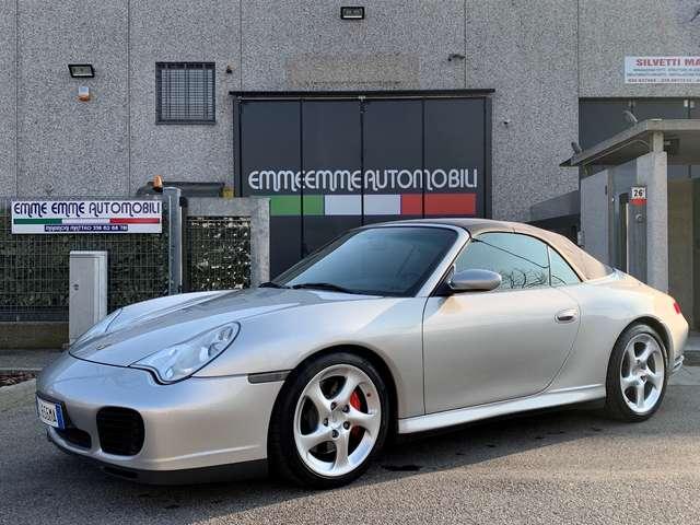 porsche 911 carrera-4s-cabriolet-unicoproprietario-tagliandi argento