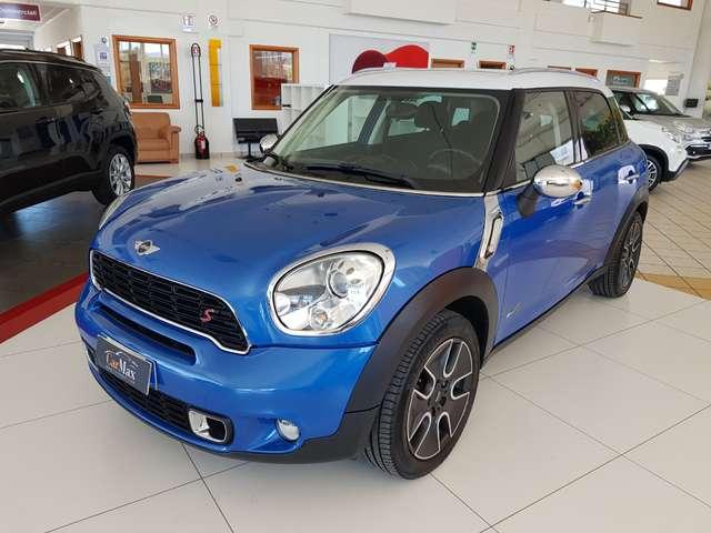 mini cooper-sd-countryman all4-143cv-aut-bicolore-strafull blu-azzurro