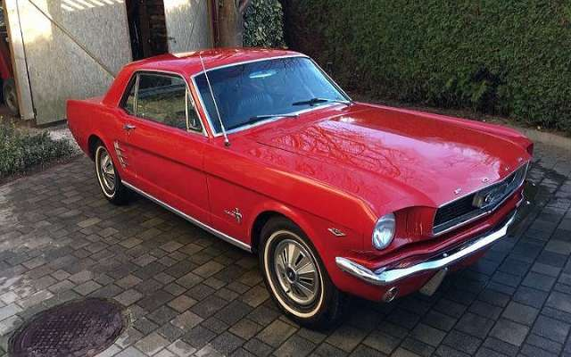 ford mustang 289 rot