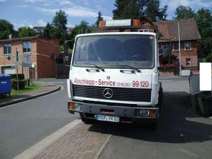 Mercedes-Benz Others 814 Abschleppwagen Weiß