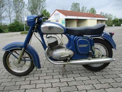 Jawa 350 Blau