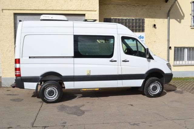 mercedes benz sprinter transporter in wei als gebrauchtwagen in erfurt f r. Black Bedroom Furniture Sets. Home Design Ideas