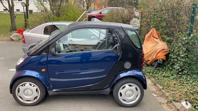 smart fortwo coupe-softtouch-pure blau