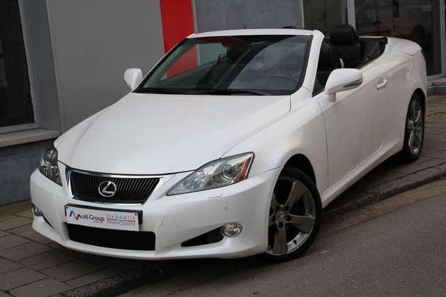 lexus is-250 250c-cabriolet-garantie-1an-luxury-pack-full-gps blanc