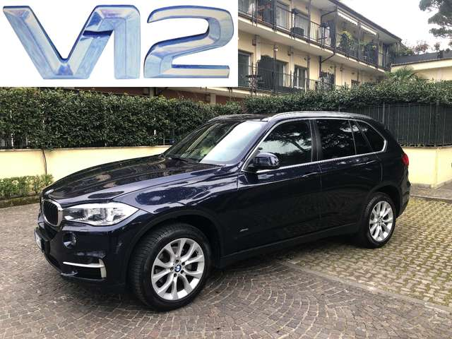 bmw x5 xdrive25d-business-1st-hand blu-azzurro