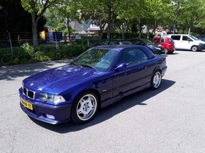 BMW M3 Cabrio E36 (1998) 3,2 velvet blue 321 pk manual 6!