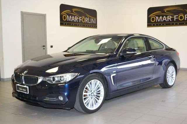 bmw 420 d-coupe-luxury-aut-navi-pelle-18-cam-fullkm149-000 blau