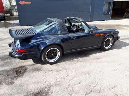 Porsche 911 Carrera 3,2 Targa (1987) donkerblauw orig. Belg.!