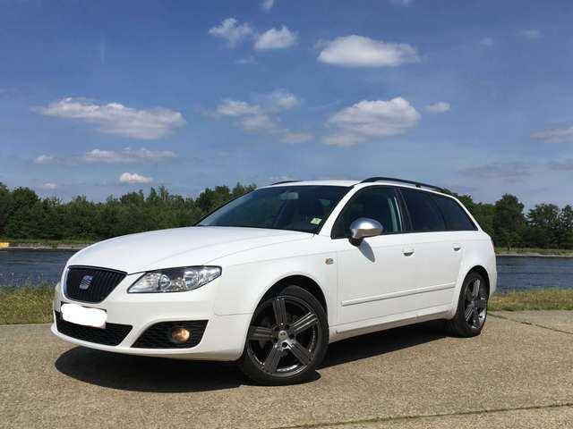 seat exeo 2-0-cr-tdi-white-line weiss