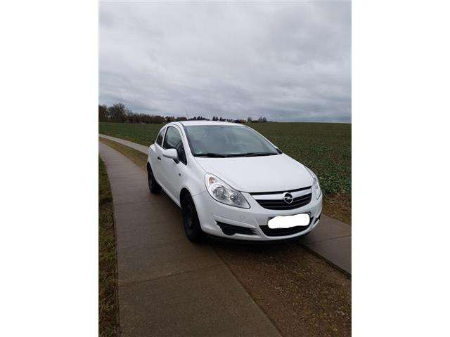 opel corsa 1-0-12v-edition weiss