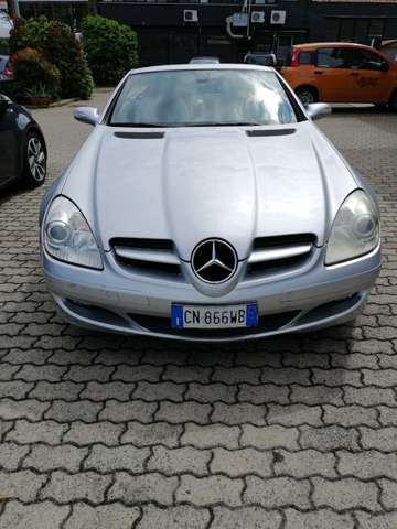 mercedes-benz slk-200 kompressor-cat argento