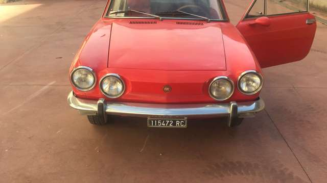 fiat 850 sport-coupe rosso