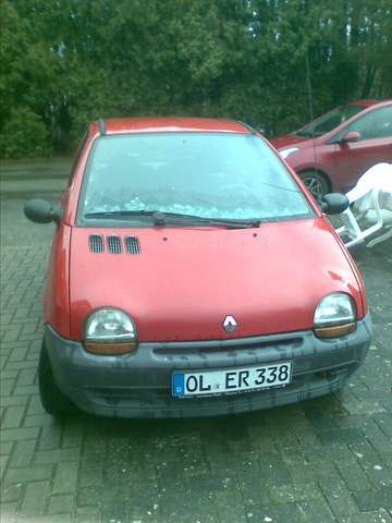 renault twingo 1-2 red