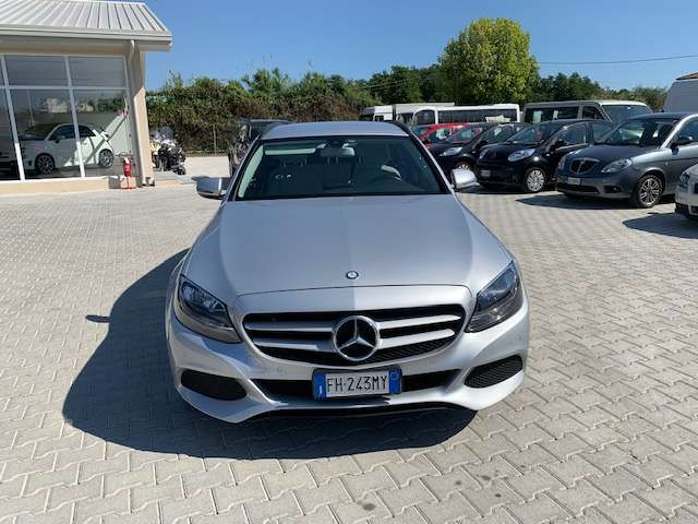 mercedes-benz c-300 h-s-w-automatic-business-extra grigio