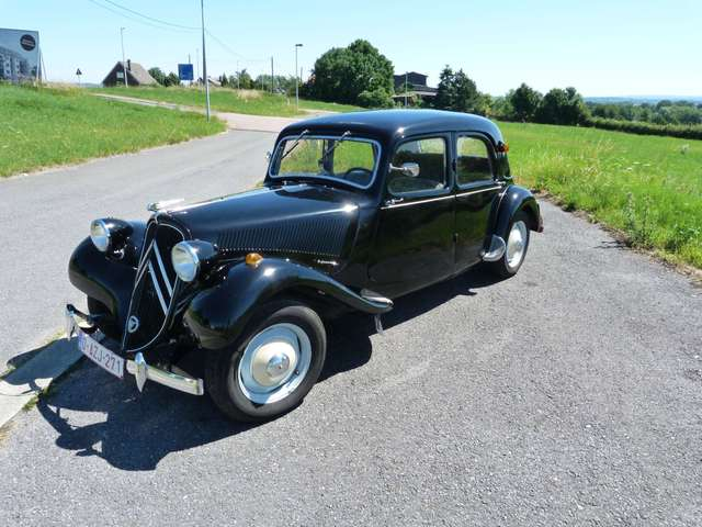 citroen traction noir