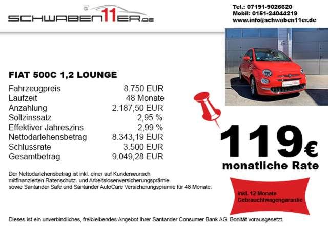 fiat 500 1-2-lounge-garantie-119--p-m rood
