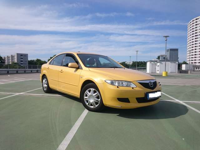 mazda 6 sport-2-3-top-lpg-gas-leder-android amarillo