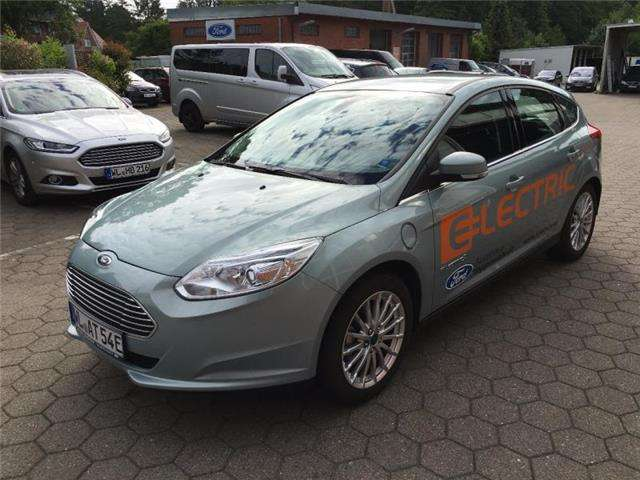 ford focus electric grau