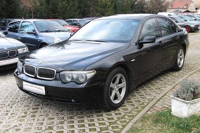 bmw 730 7er schwarz