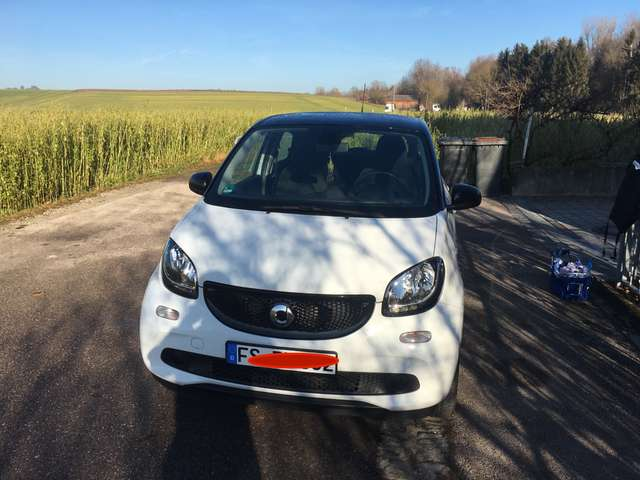 smart forfour passion weiss