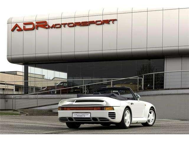 porsche 959 cabrio-speedster-coupe blanc