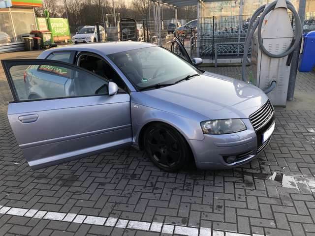 audi a3 1-8-t-s-line silber