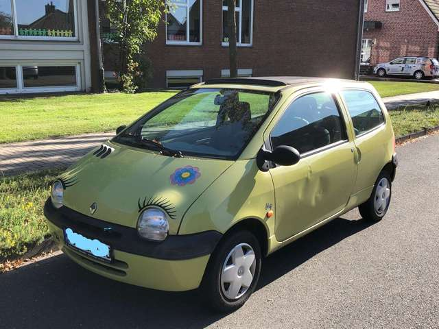 renault twingo 1-2-liberty yellow